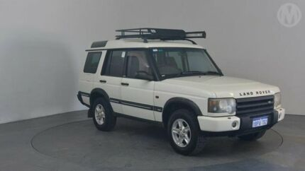 2003 Land Rover Discovery Series II Chawton White 4 Speed Automatic Wagon Perth Airport Belmont Area Preview