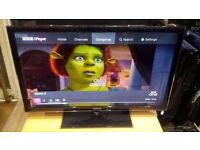 """Samsung 40"""" Smart Wifi Full HD 1080p Freeview LED TV £160"""
