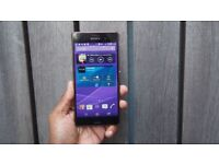 Unlocked Sony Z3 Black + Case + Fast Charger