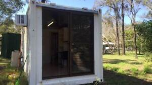 Self contained transportable 20ft shipping container/granny flat Jimboomba Logan Area Preview