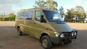 2005 Mercedes-Benz Sprinter 316CD MWB 4x4 Green 5 Speed Manual Van Condell Park Bankstown Area Preview