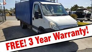 2012 Iveco Daily 45C15 White Traytop Acacia Ridge Brisbane South West Preview
