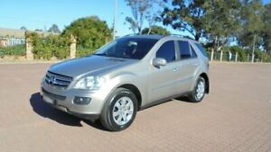2005 Mercedes-Benz ML350 W164 4x4 Brown 7 Speed Automatic G-Tronic Wagon Condell Park Bankstown Area Preview