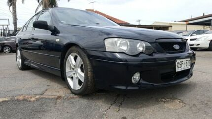2002 Ford Falcon BA XR6 Black 4 Speed Sports Automatic Sedan Enfield Port Adelaide Area Preview