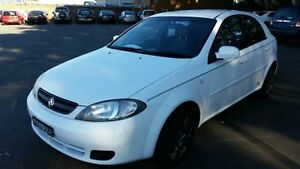 2006 Holden Viva JF White 5 Speed Manual Hatchback Georgetown Newcastle Area Preview