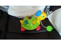 turtle shape sorter excellent condition