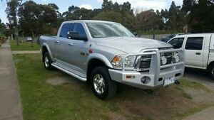 2012 Dodge Ram Silver Automatic Dual Cab Utility Dandenong Greater Dandenong Preview