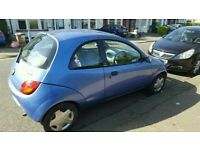 FORD KA 1.3 LOW MILES ONLY 20K IN LAST TEN YEARS STARTS AND DRIVES GREAT MOT READY TO GO £350