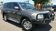 2011 Toyota Landcruiser UZJ200R MY10 GXL Grey 5 Speed Sports Automatic Wagon Bungalow Cairns City Preview