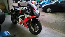 HONDA CBR 929 RR LIMITED US EDITION ERION RACING (red, white and black) 2001