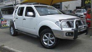2013 Nissan Navara D40 MY12 ST-X 550 (4x4) White 7 Speed Automatic Dual Cab Utility Homebush Strathfield Area Preview