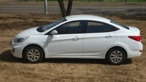 2015 Hyundai Accent RB3 MY16 Active White 6 Speed Constant Variable Sedan