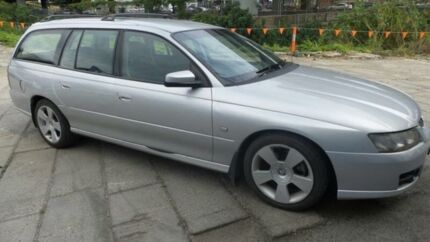 2006 Holden Commodore VZ MY06 SVZ Silver 4 Speed Automatic Wagon