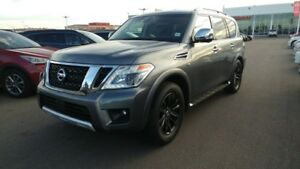 2017 Nissan Armada PLATINUM AWD Accident Free,  Navigation (GPS)