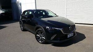 2016 Mazda CX-3 DK2W7A sTouring SKYACTIV-Drive Jet Black 6 Speed Sports Automatic Wagon West Hindmarsh Charles Sturt Area Preview