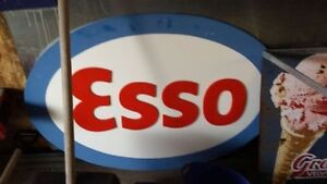 ESSO/PHONE BOOTH/SIGN