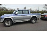 MITSUBISHI L200 2.5TD. SERVICED EVERY YEAR RECENT CAMBELT VERY GOOD TYRES £1495!!!