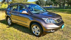 2011 Honda CR-V RE MY2011 Luxury 4WD Brown 5 Speed Automatic Wagon Tanunda Barossa Area Preview