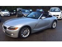 2005 BMW Z4 2.2 sport auto convertible 46k automatic warranty finance part ex Hpi clear