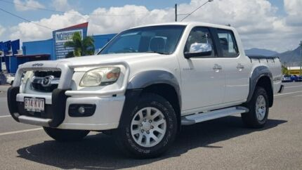 2008 Mazda BT-50 UNY0E3 SDX White 5 Speed Manual Utility Bungalow Cairns City Preview