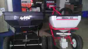 Fertilizer and salt spreaders m