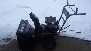 "Snow blower 8 HP - 24"" wide"