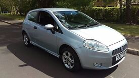 2007 07 Fiat Grande Punto Active Sport 1.4. Recent M.O.T. Cambelt Replaced. Lovely car.