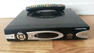 USED Limesat Ultra PVR Fta Satellite Receiverfref