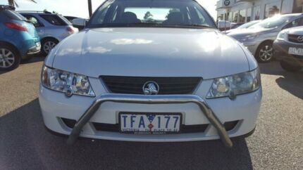 2004 Holden Commodore VY II Equipe White 4 Speed Automatic Sedan Heatherton Kingston Area Preview
