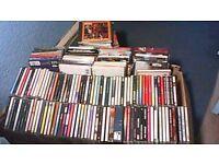 300 x CD'S COLLECTION-JOBLOT-POP, ROCK, CLASSICAL, INDIE, SOUNDTRACKS ETC.
