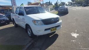 2007 Toyota Hilux GGN15R MY07 SR White 5 Speed Automatic 4D Utility Yagoona Bankstown Area Preview