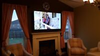 CCTV, TV Wallmount and Home Theatre Installations