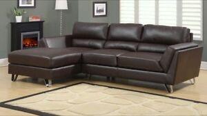 Spécial Sofa-sectionnel avec pattes en chrome à seulement 795