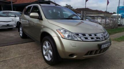2005 Nissan Murano Gold Constant Variable Wagon Greenacre Bankstown Area Preview