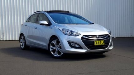2014 Hyundai i30 GD MY14 Premium Silver 6 Speed Sports Automatic Hatchback