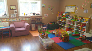 Child care spot open in lovely home day care