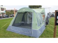 Vango Idris Inflatable Driveaway awning standard height 205cm to 235cm. As new.
