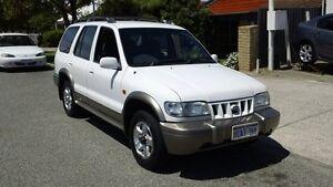 2001 Kia Sportage MY2001 White 4 Speed Automatic Wagon Victoria Park Victoria Park Area Preview