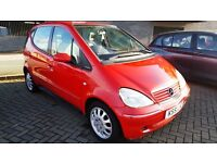 2002 MERCEDES A170 CDi (DIESEL) DRIVE VERY GOOD SERVICE HISTORY CHEAP PRICE 499