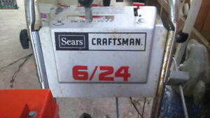 Craftsman 6/24 Snowblower