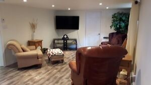 Partially Furnished 1 bedroom