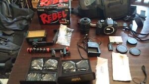 Canon Rebel T3i digital camera dslr with tons of extras!!