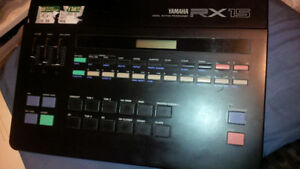 Yamaha-RX-15 Drum Machine! TODAY ONLY$100!