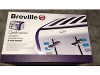 Breville 4 slice toaster - Amethyst. Brand new and boxed
