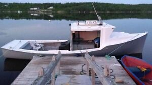 """33"""" cape island boat for sale or trade asking $8000"""