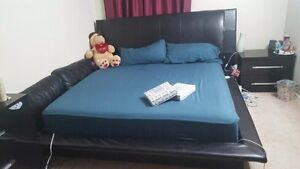King size bed and Mattress for sale.