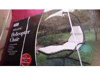 Garden relaxer with umbrella