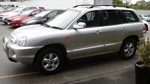 2004 Hyundai Santa Fe GL (4x4) Silver 4 Speed Automatic Wagon Northam Northam Area Preview