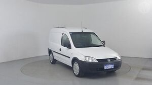 2011 Holden Combo XC MY11 White 5 Speed Manual Van Perth Airport Belmont Area Preview
