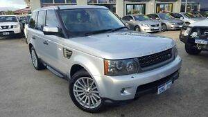 2011 Land Rover Range Rover MY12 Sport 3.0 SDV6 Luxury Silver 6 Speed Automatic Wagon Victoria Park Victoria Park Area Preview